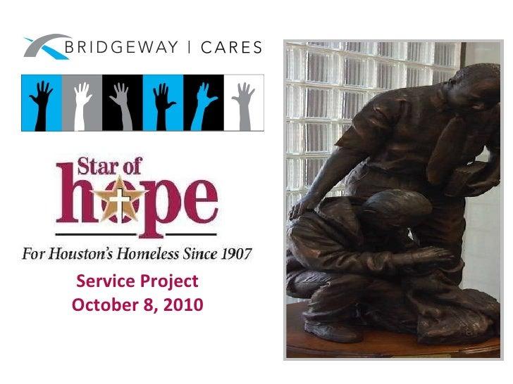 Bridgeway Cares - Star of Hope 2010