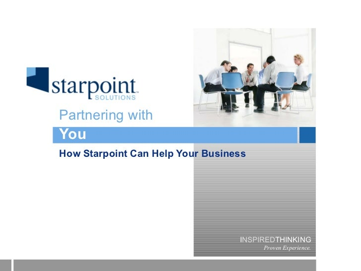 You How Starpoint Can Help Your Business Partnering with