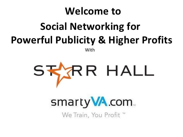 Starr hall social media