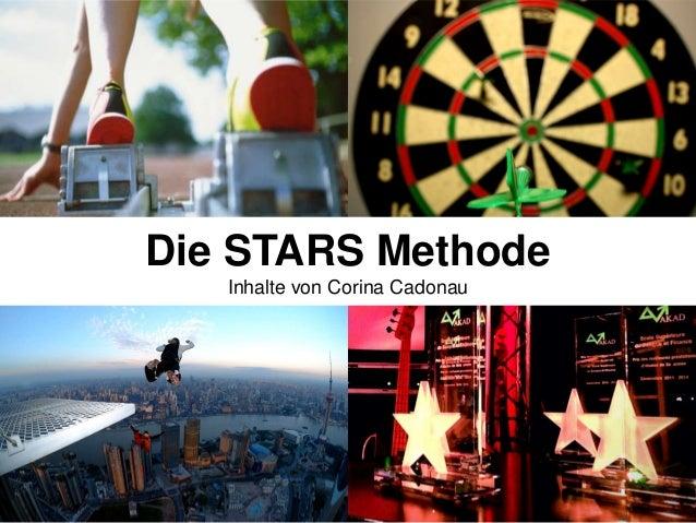 Die STARS Methode Inhalte von Corina Cadonau