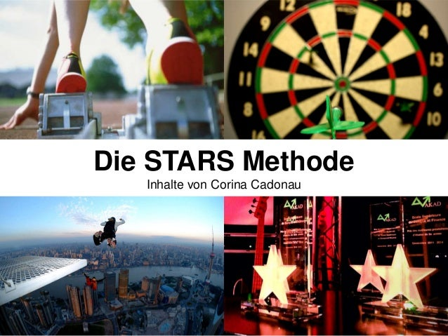 Die STARS Methode (Self-Marketing)