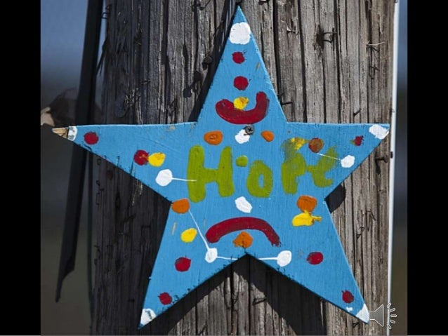 """Stars of Hope"": Inspirational Messages Sandy Victims- Photographer Carlo Allegri"