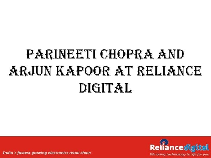 Stars of Ishaqzaade at Reliance Digital Ahmedabad
