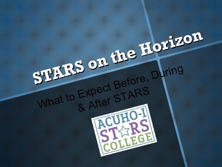Stars on the Horizon:  the ACUHO-I Stars College