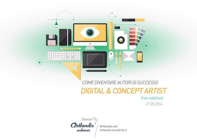 Digital & Concept Artist: come diventare autori di successo (free webinar)