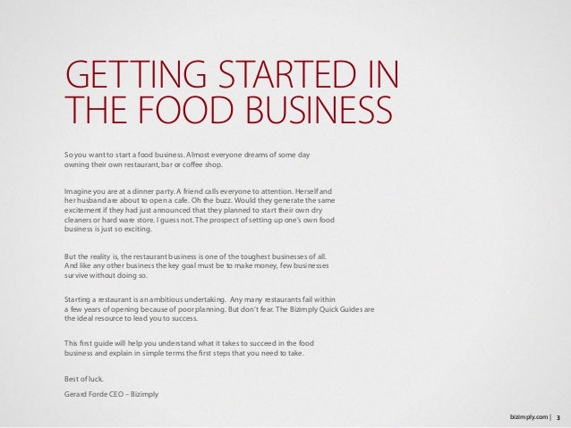 A FREE Sample Restaurant Business Plan Template