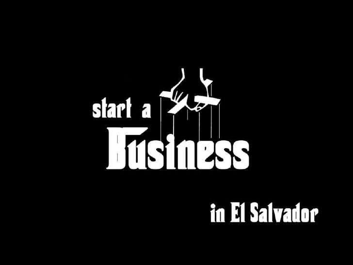 Start a business in el salvador