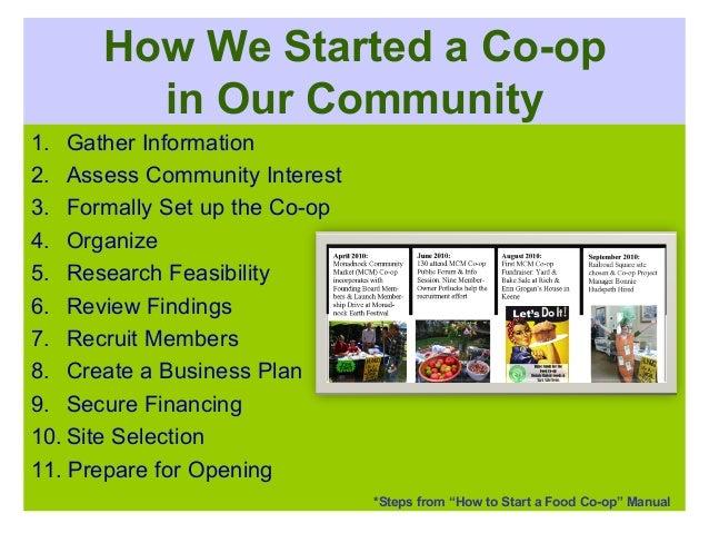 Co Op Business Plan