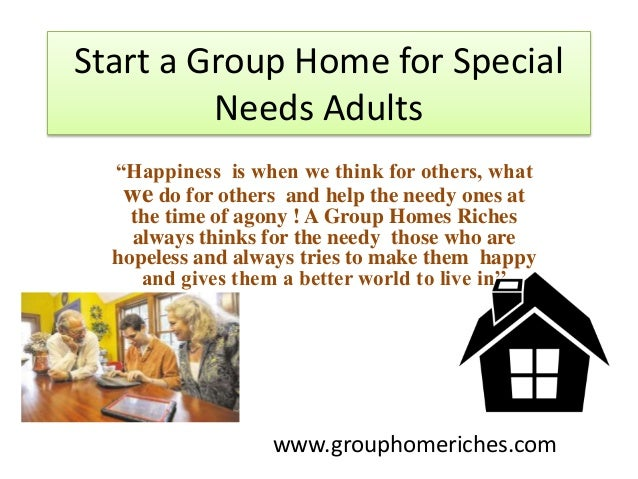 a adult group home in