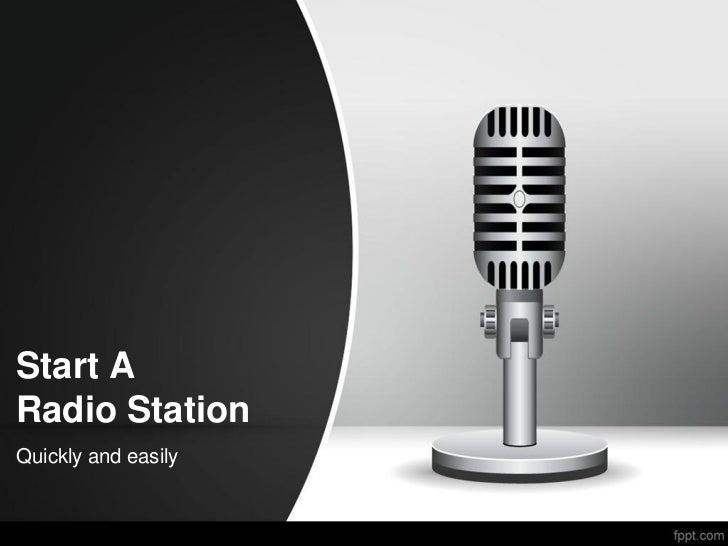 Start ARadio StationQuickly and easily