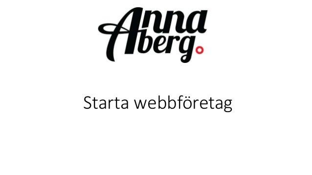 Starta webbföretag
