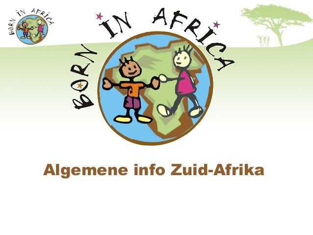 Algemene info Zuid-Afrika