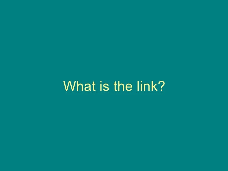 What is the link?