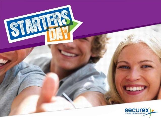 Starters day Maart 2013