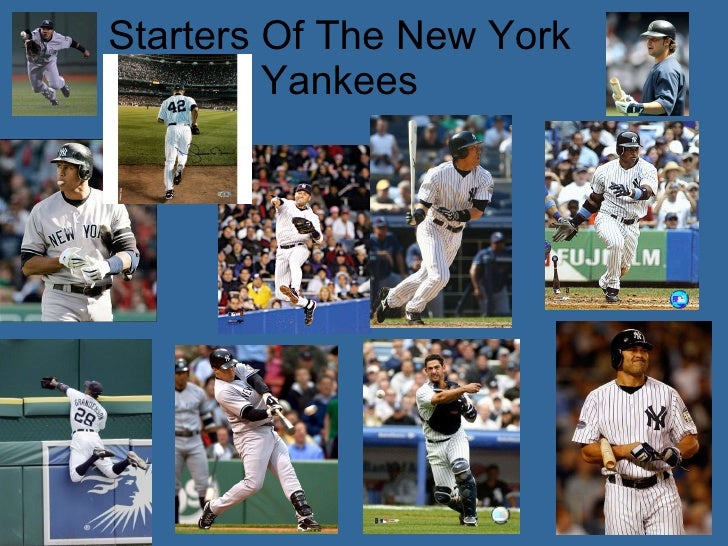 Starters Of The New York Yankees