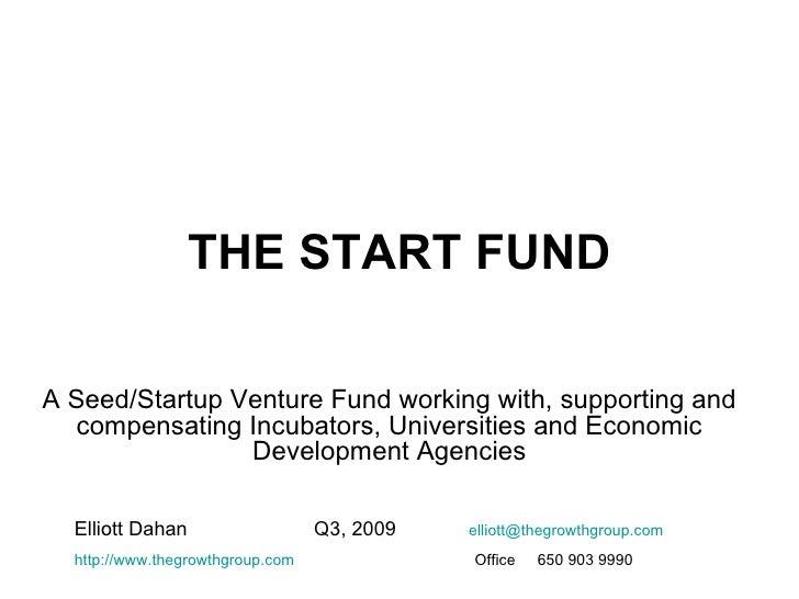 Start Fund Q3 2009