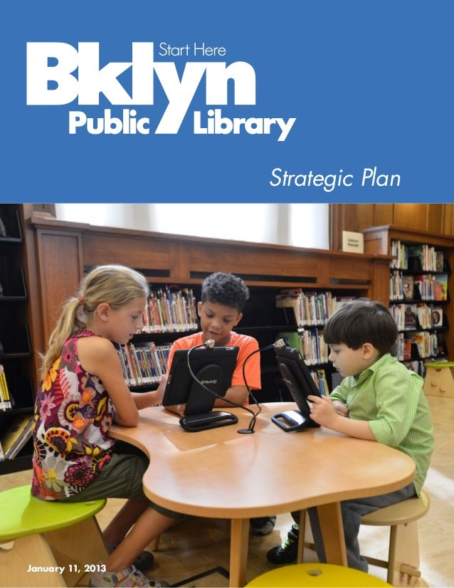 Start here bklyn public library stategic plan