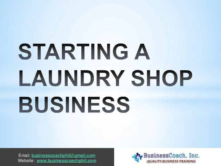coin laundromat business plan
