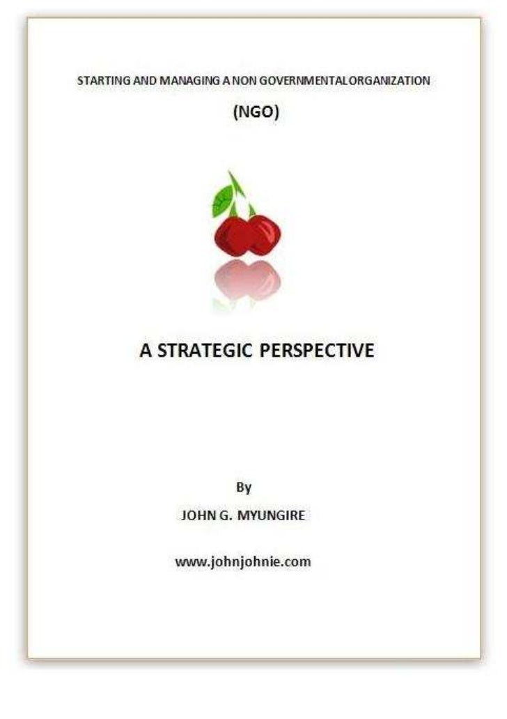 Starting and managing ngo ebook