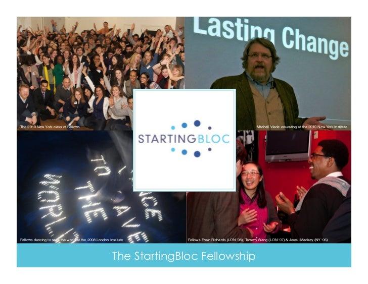 StartingBloc Overview