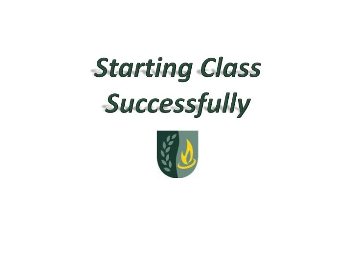 Starting Class Successfully<br />