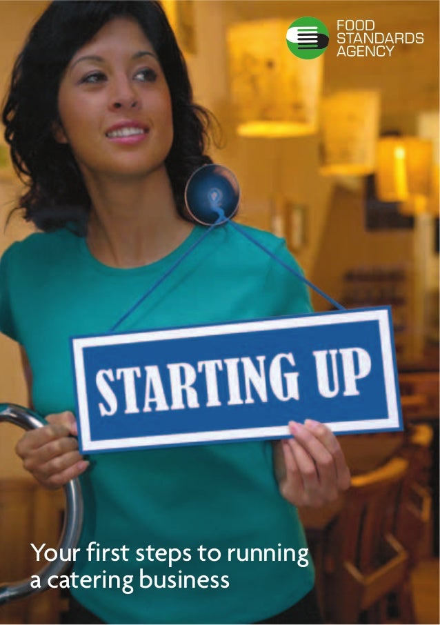 Your first steps to runninga catering business