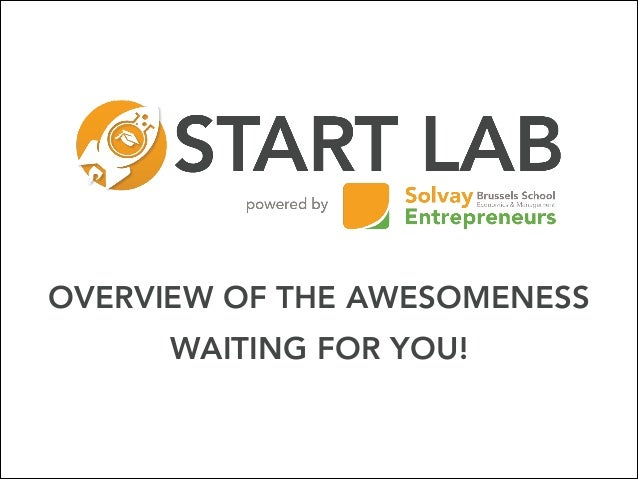 START LAB - INTRODUCTION (MOBILE APP - EDITION 2014)