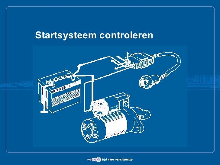 Startsysteem controleren