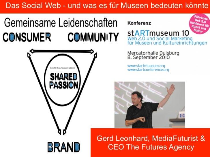 StartMuseum 2010: Das social Web und Museen (in German language)