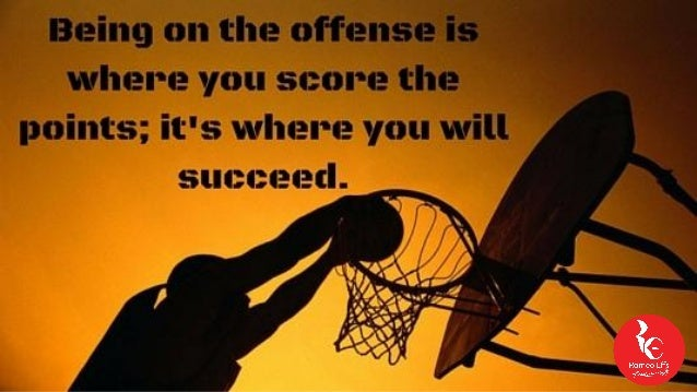 Image result for be on offense in business