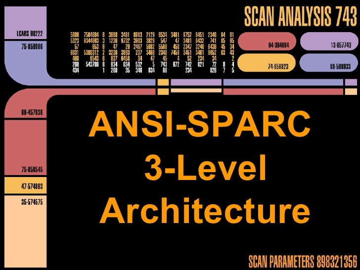 ANSI-SPARC - Star Trek style - v2.0