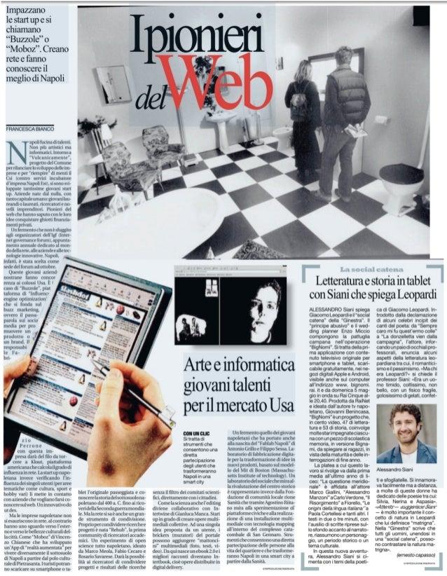 StartUp VulcancaMente Made in Naples