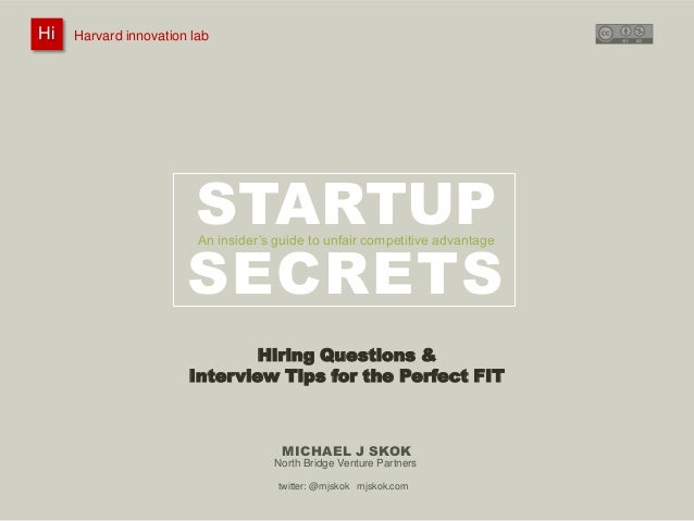 Hiring Questions for the Perfect FIT