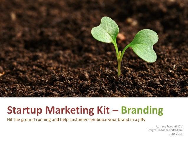 Startup marketing kit - Branding