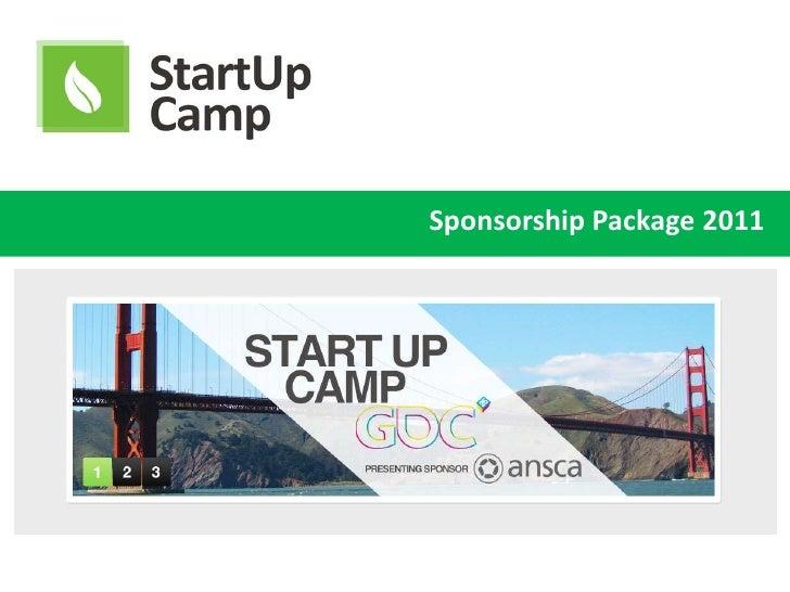 Sponsorship Package 2011<br />