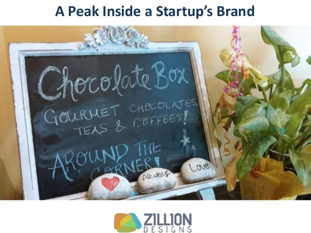 A Peak Inside the Branding of the Chocolate Box - A Niche Startup