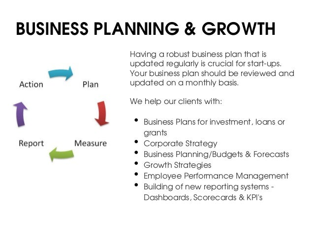 Consulting startup business plan