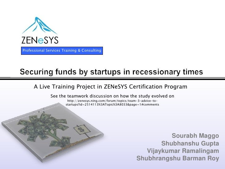 Funding for Startups