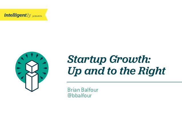 presentsBrian Balfour@bbalfourStartup Growth:Up and to the Right
