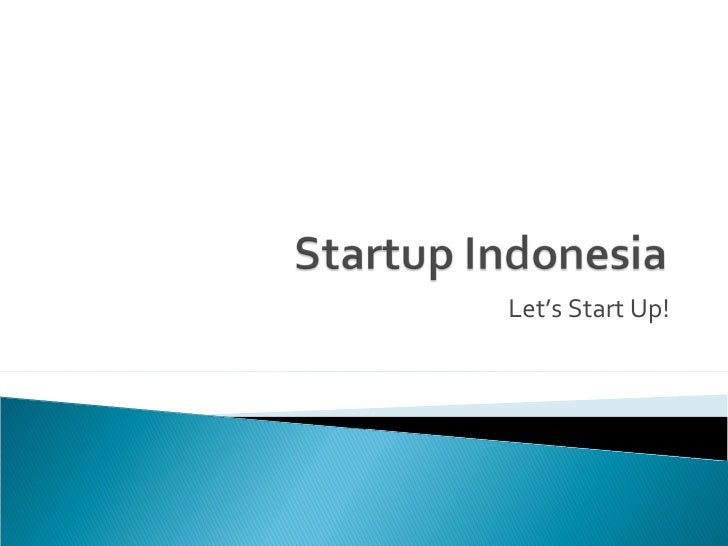 Startup Indonesia #1
