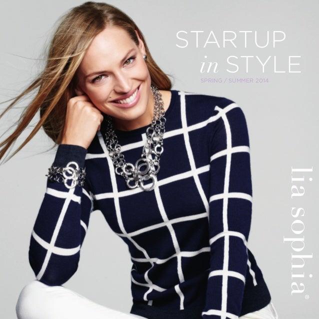 Startup in style kit brochure spring summer 2014