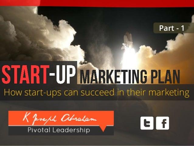 Startup marketing plan