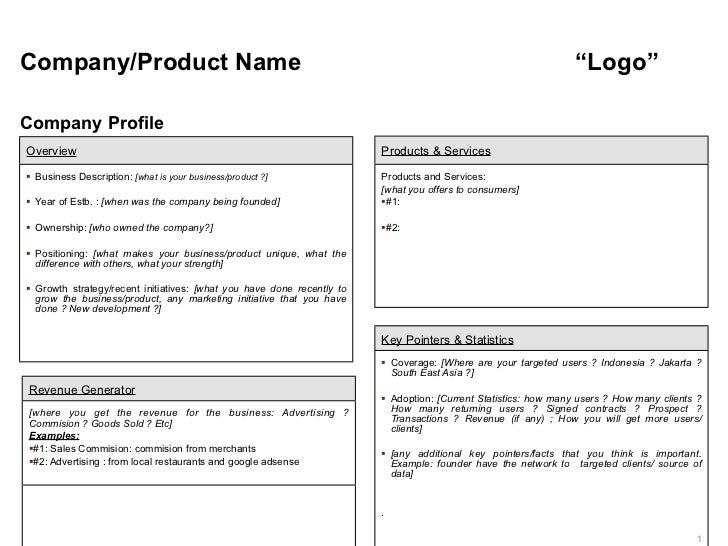 "Company/Product Name                                                                                             ""Logo""Com..."