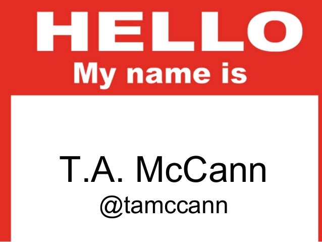 T.A. McCannT.A. McCannVP of Product Strategy @Blackberry       Founder of Gist.com     @tamccann