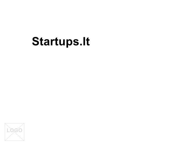 Startups.Lt projekto idėjos pristatymas