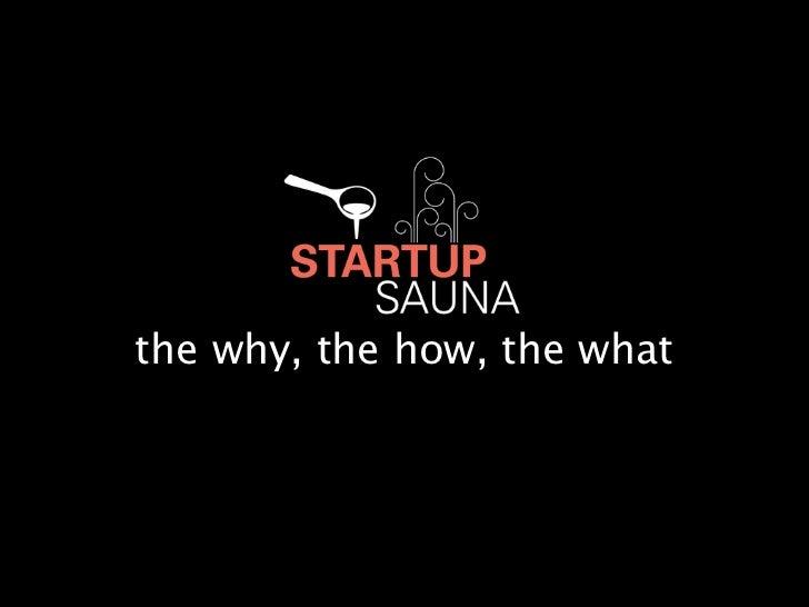 Startup Sauna Meetup Lithuania 30/08/12
