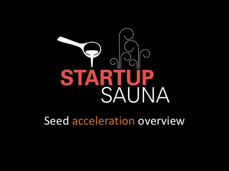 Seed acceleration overview
