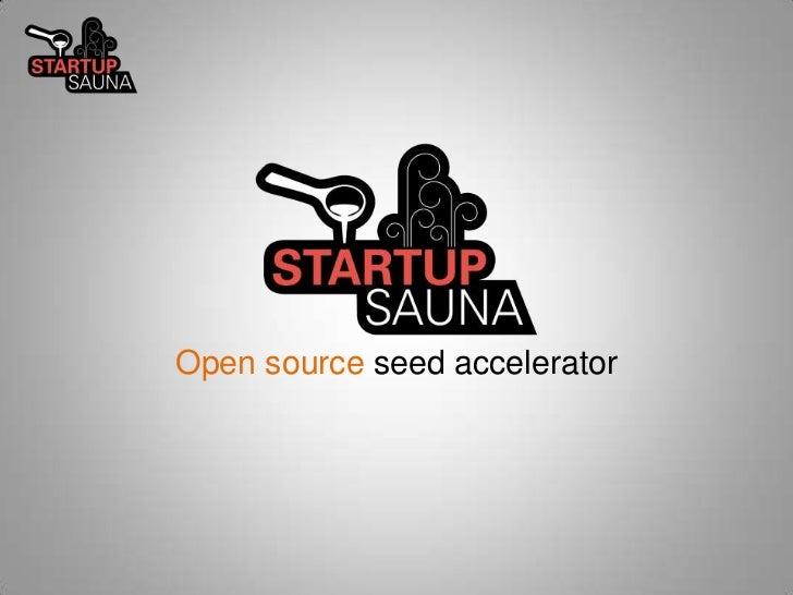 Startup Sauna Warmup Intro