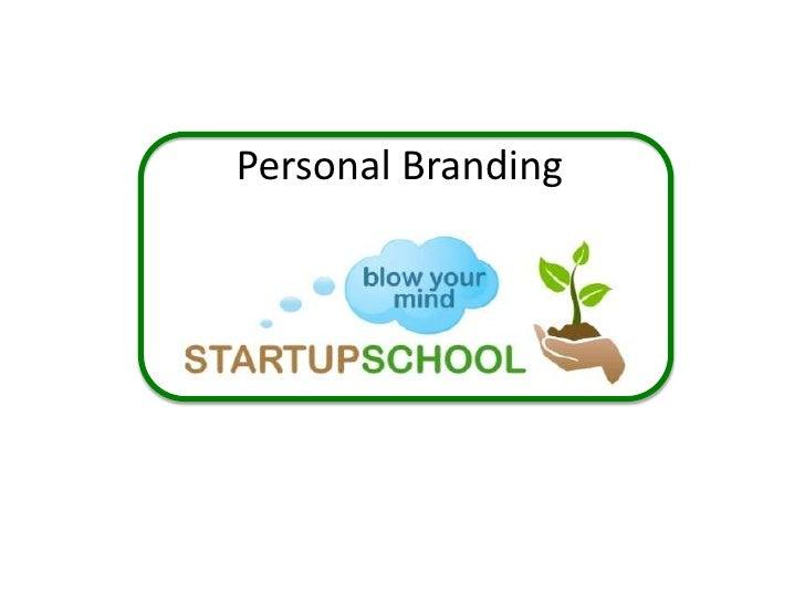 Personal Branding<br />