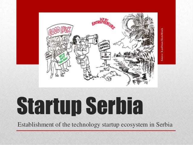 Source: Kauffman SketchbookStartup SerbiaEstablishment of the technology startup ecosystem in Serbia